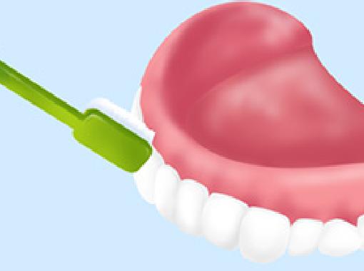 入れ歯ブラッシング